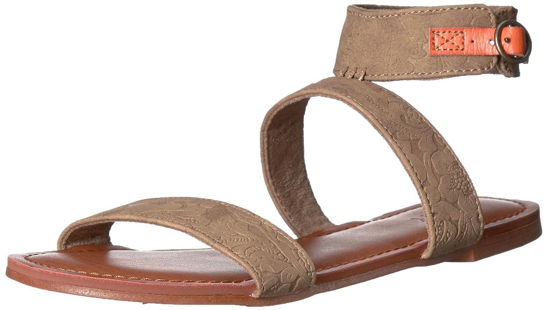 Roxy Women's Marron Ankle Strap Flat Sandal