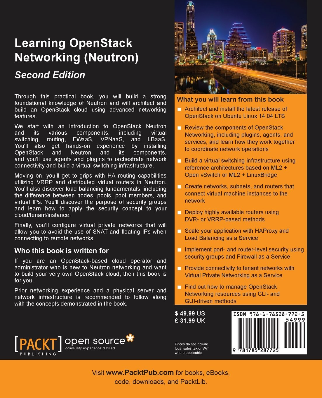 com learning openstack networking neutron second com learning openstack networking neutron second edition 9781785287725 james denton books