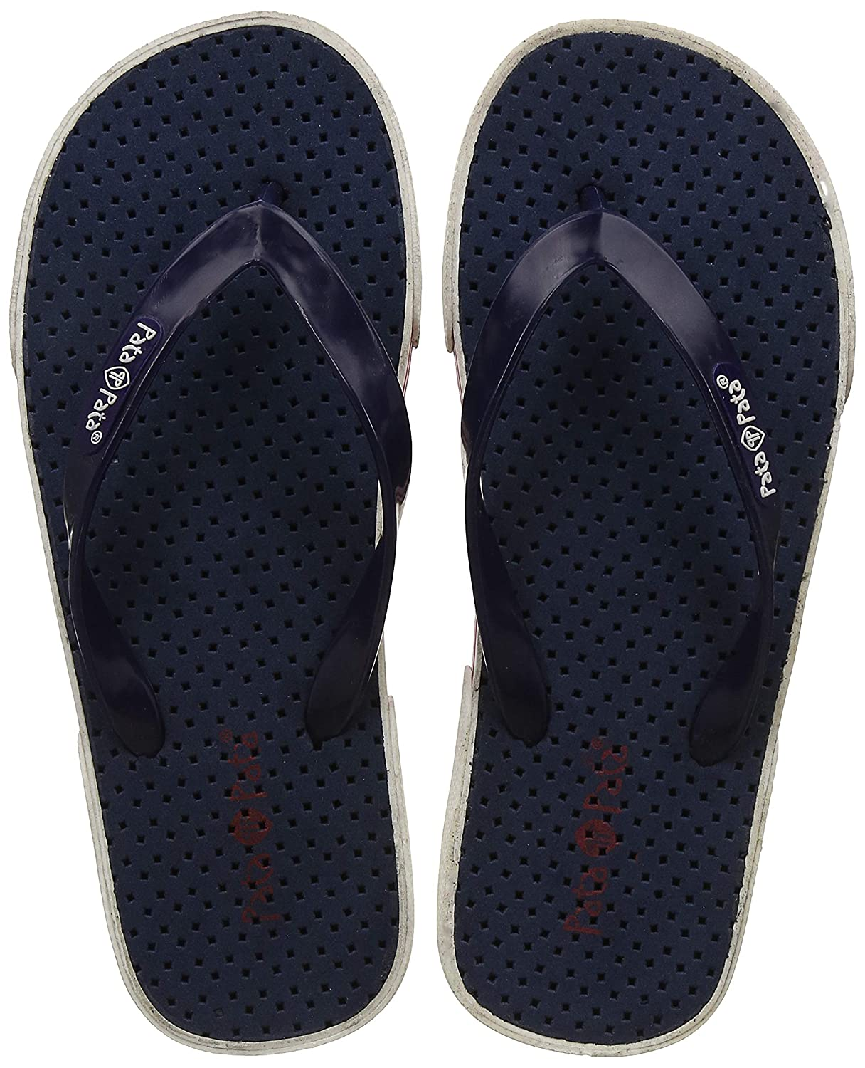 b6f832d5bb5 Pata Pata Men s PLASMA Blue Flip Flops Thong Sandals - 8(8719036)  Buy  Online at Low Prices in India - Amazon.in