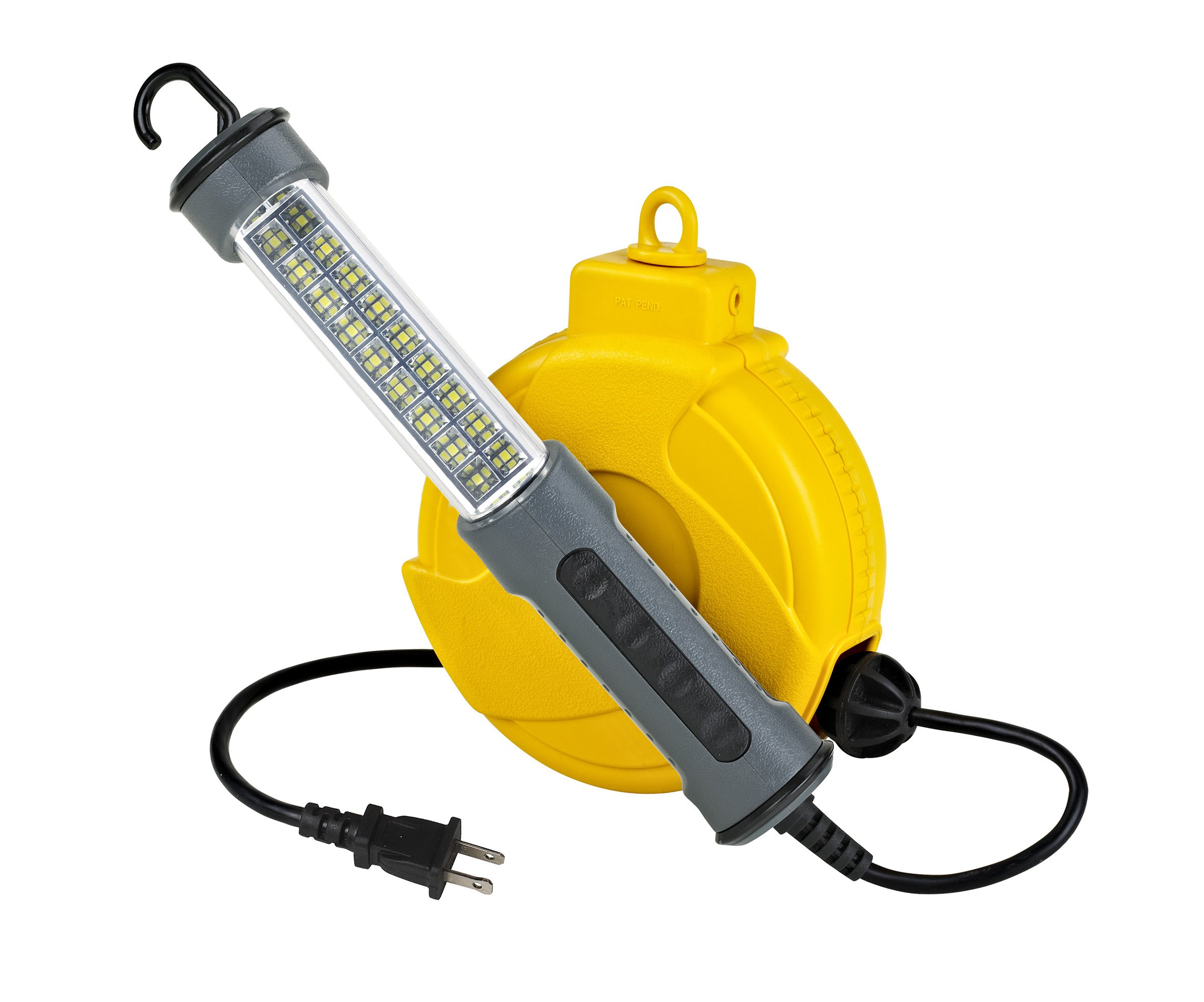 Alert Stamping 920LSM 18 SMD LED 150 lm Retractable Cord Reel