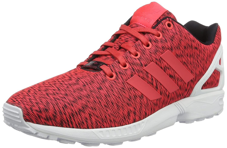 Details about Adidas ZX Flux S76533 Men's Trainers Core BlackShock RedWhite