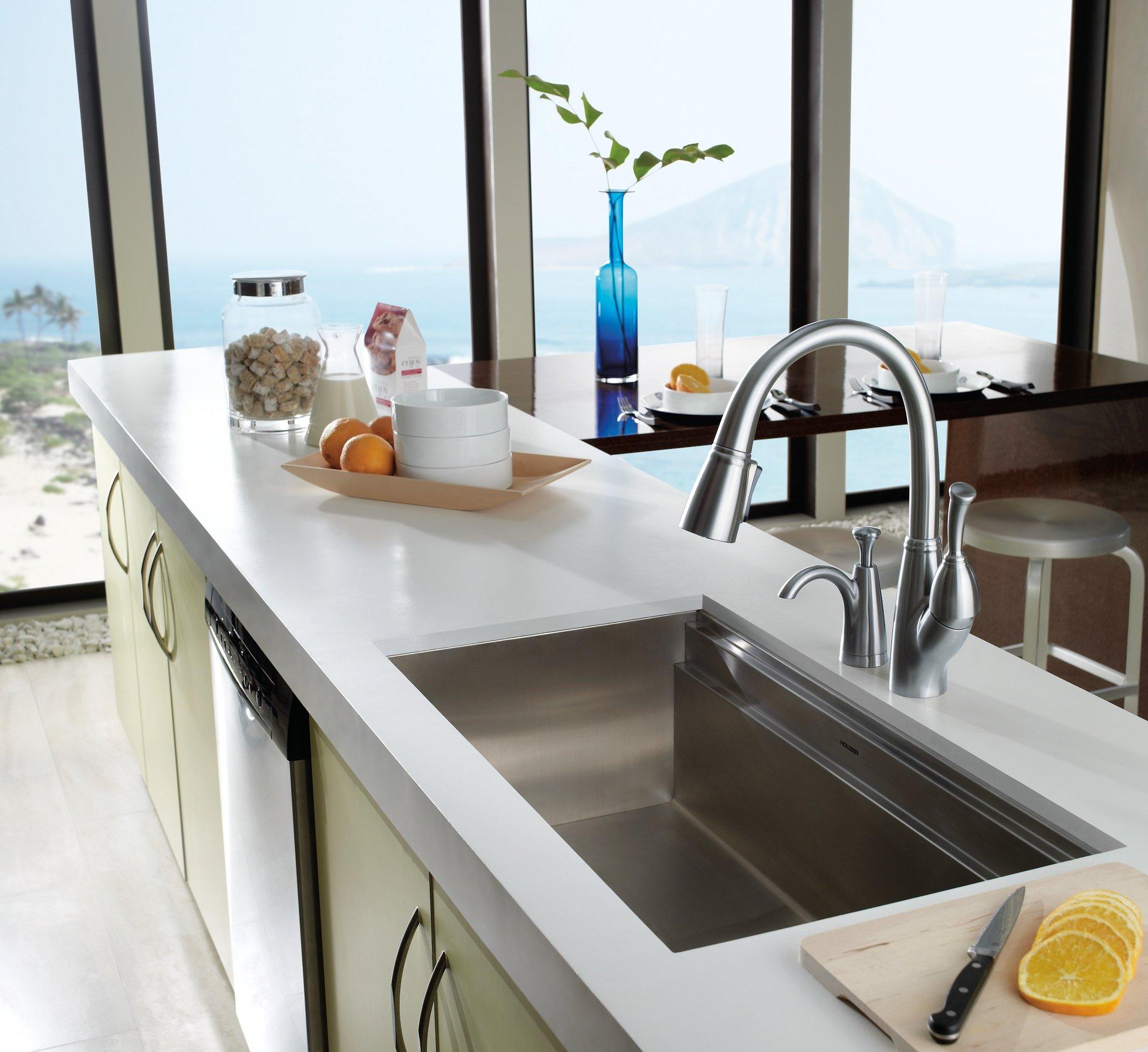 Delta Faucet RP47280AR Allora, Soap/Lotion Dispenser, Arctic Stainless
