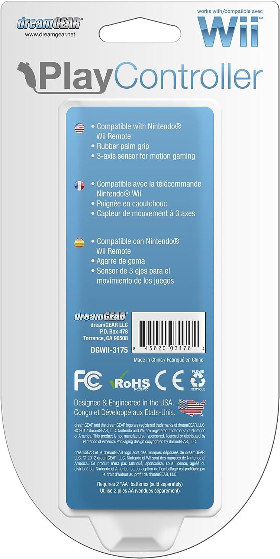 Amazon.com: Wii Play Controller - Black: Nintendo Wii U ...