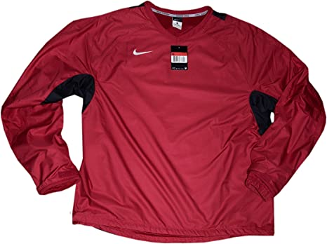 Nike Mens Rugby taladro rojo camiseta de manga larga Talla XL: Amazon.es: Deportes y aire libre
