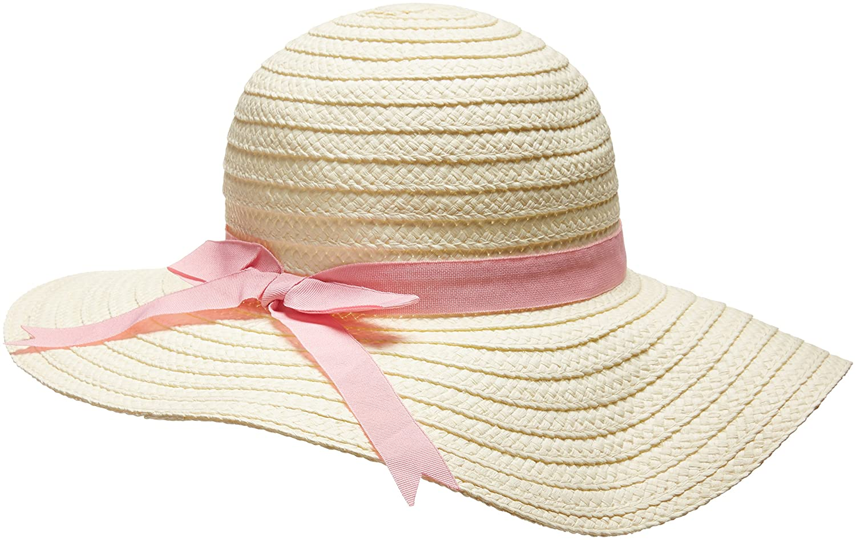 701098fda07 Amazon.com: Flap Happy Girls' Toddler UPF 50+ Malibu Beach Straw Hat:  Clothing