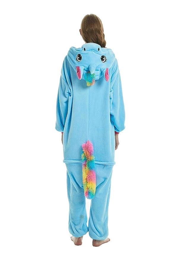Pijamas de UnaPieza - Youson Girl® (M: Altura (61.8inch-65.7inch / 158cm-167cm), Azul): Amazon.es: Ropa y accesorios
