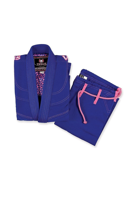 VERUS Athena Damen BJJ Gi Brazilian Jiu Jitsu Uniform - blau - F2