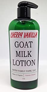 Bates Family Farm Goat Milk Lotion (Cherry Vanilla Fragrance)