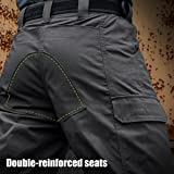 FREE SOLDIER Men's Capri Shorts Pants Casual Loose