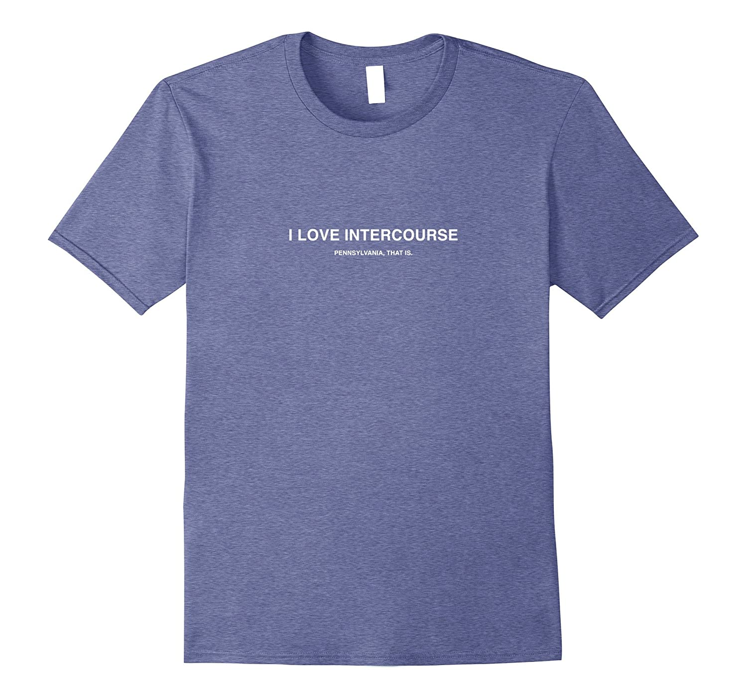 Funny Lancaster PA Intercourse PA Ironic City Name T Shirt-ah my shirt one gift