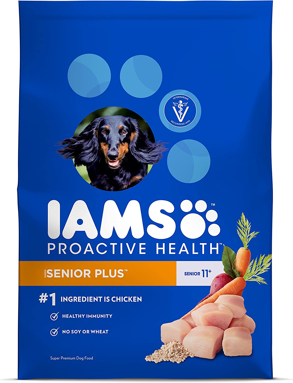 Iams Proactive Health Senior Dry Dog Food – Chicken