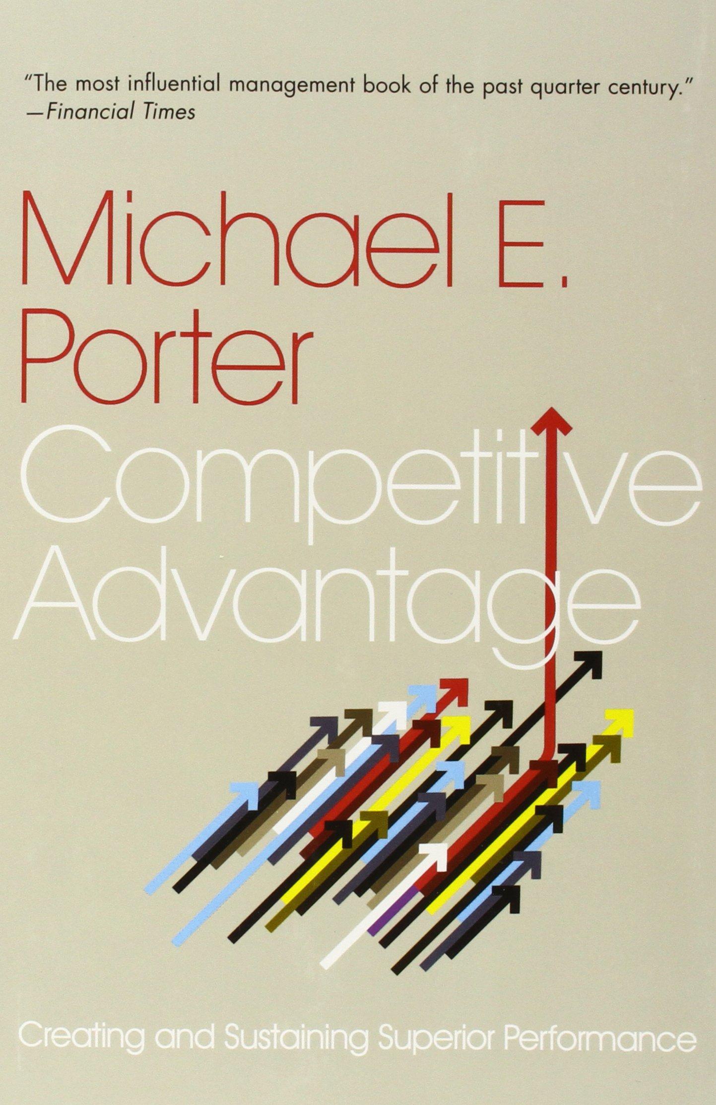amazon competitive advantage michael e porter information