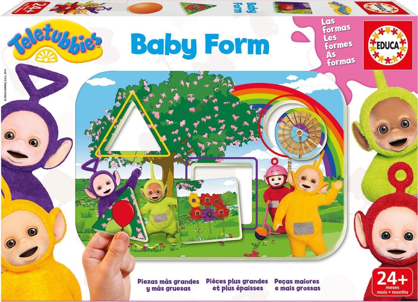 Teletubbies - Baby Form, Juego de Mesa (Educa Borrás 17060): Amazon.es: Juguetes y juegos