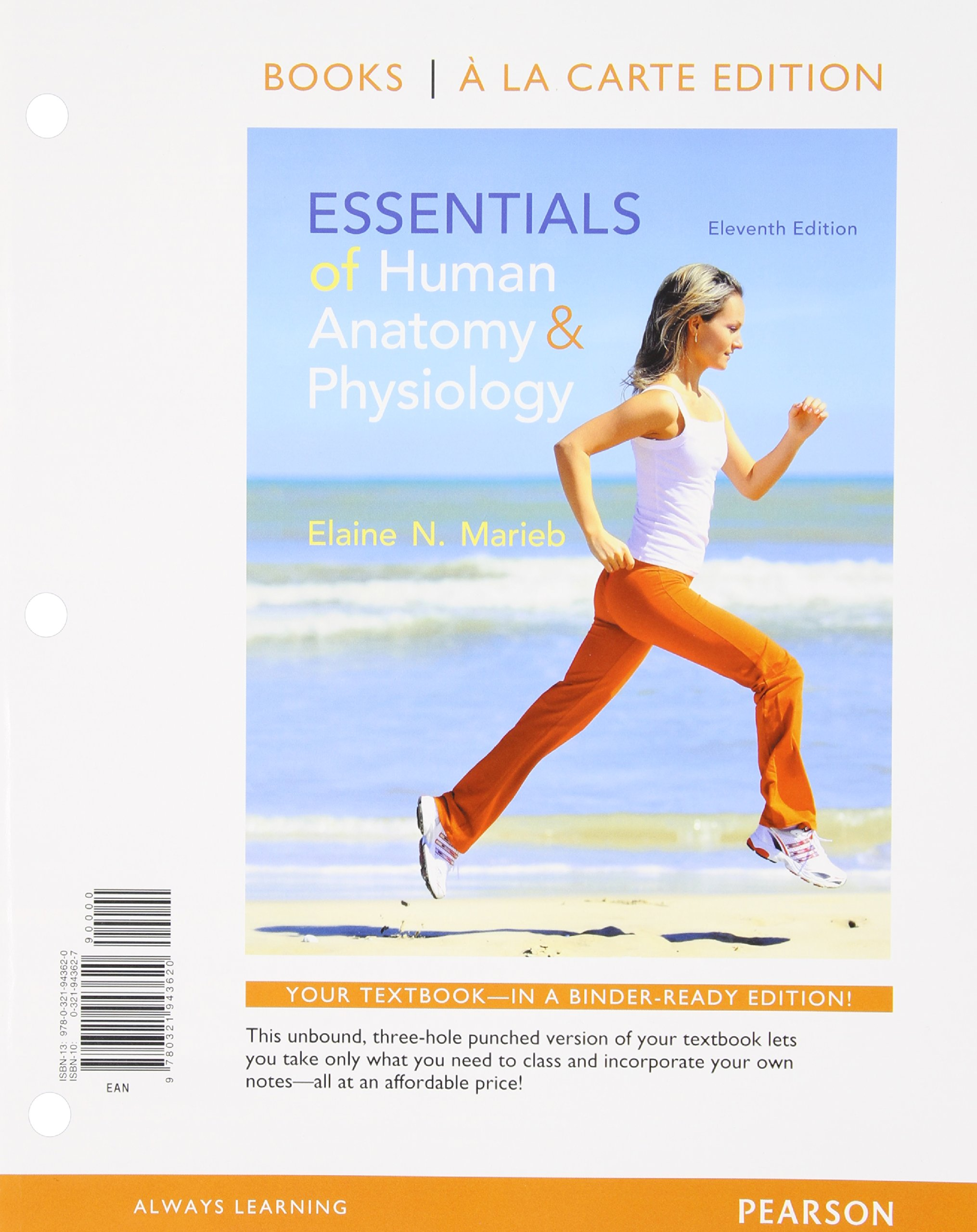 Essentials Of Human Anatomy And Physiology Books A La Carte Plus