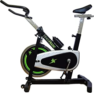 Fitness House Wizard 1.8 Bicicleta Indoor Spin Bike, Unisex Adulto ...
