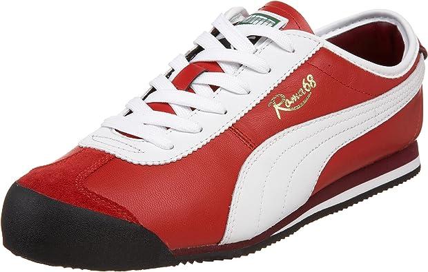 Amazon.com | PUMA Men's Roma 68 Vintage Sneaker, Ribbon Red ...