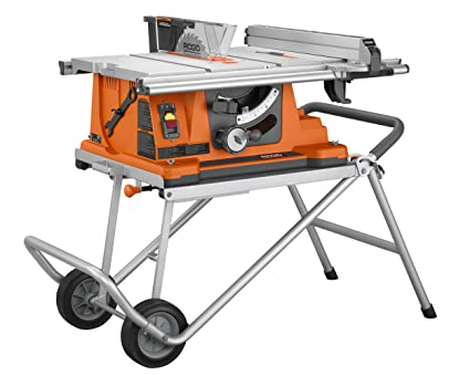 Ridgid r4510 heavy duty portable table saw with stand power table ridgid r4510 heavy duty portable table saw with stand keyboard keysfo Gallery