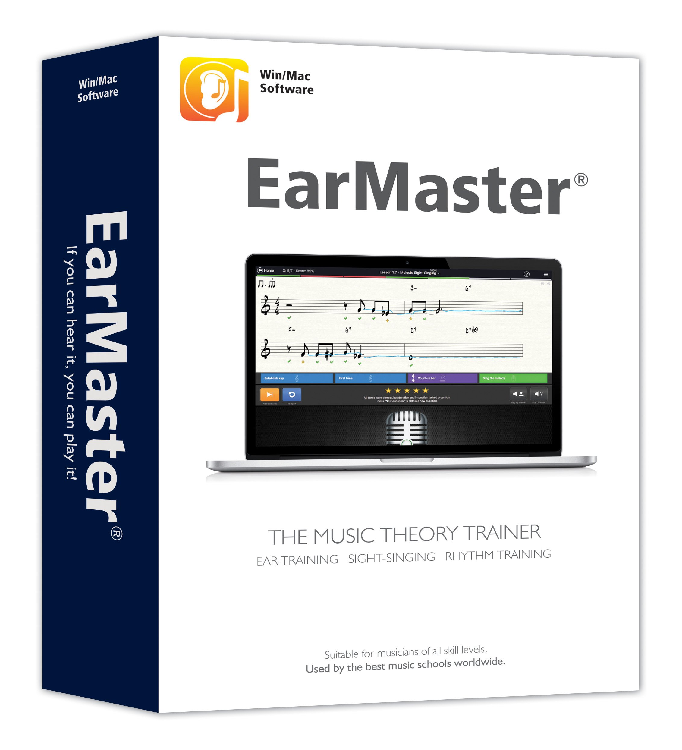 EarMaster 7 Professional - Ear Training, Sight-Singing, Rhythm Trainer by EarMaster ApS