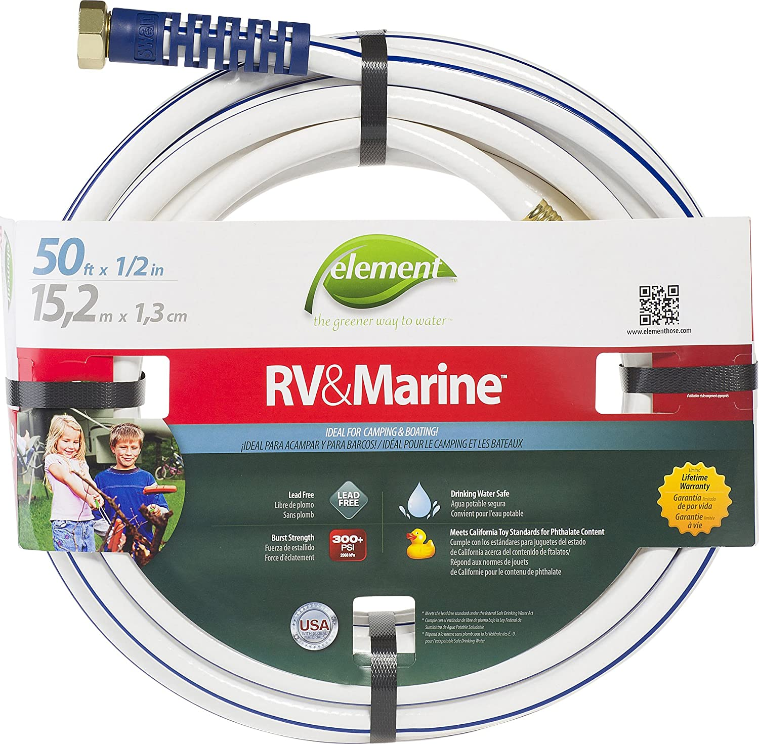 Swan Products RV, Marine, Camping, and Boating Water Hose