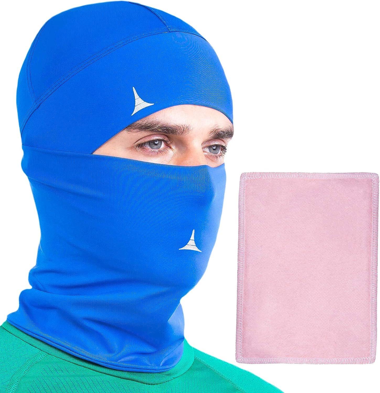 Neck Gaiter Face Mask Bandana with Filter. Sun Protection Balaclava Face Cover