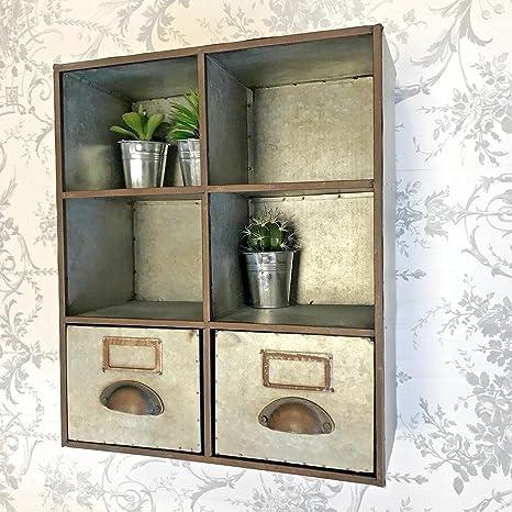 OL Storag - Unidad de Almacenamiento de Pared con Agujero para Palomas, Vintage, Mueble