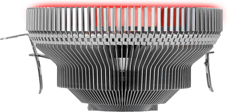 9 cm Slim Design Mars Gaming MCPURGB PWM 4pin RGB Flow CPU Heatsink