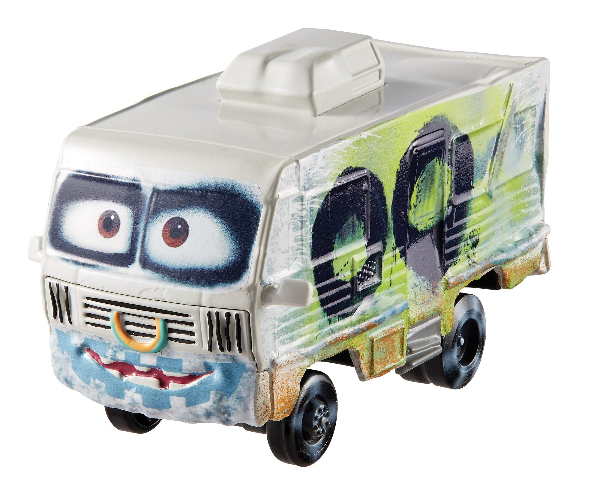 Disney Pixar Cars 3 Deluxe Arvy Vehicle, 1:55 Scale