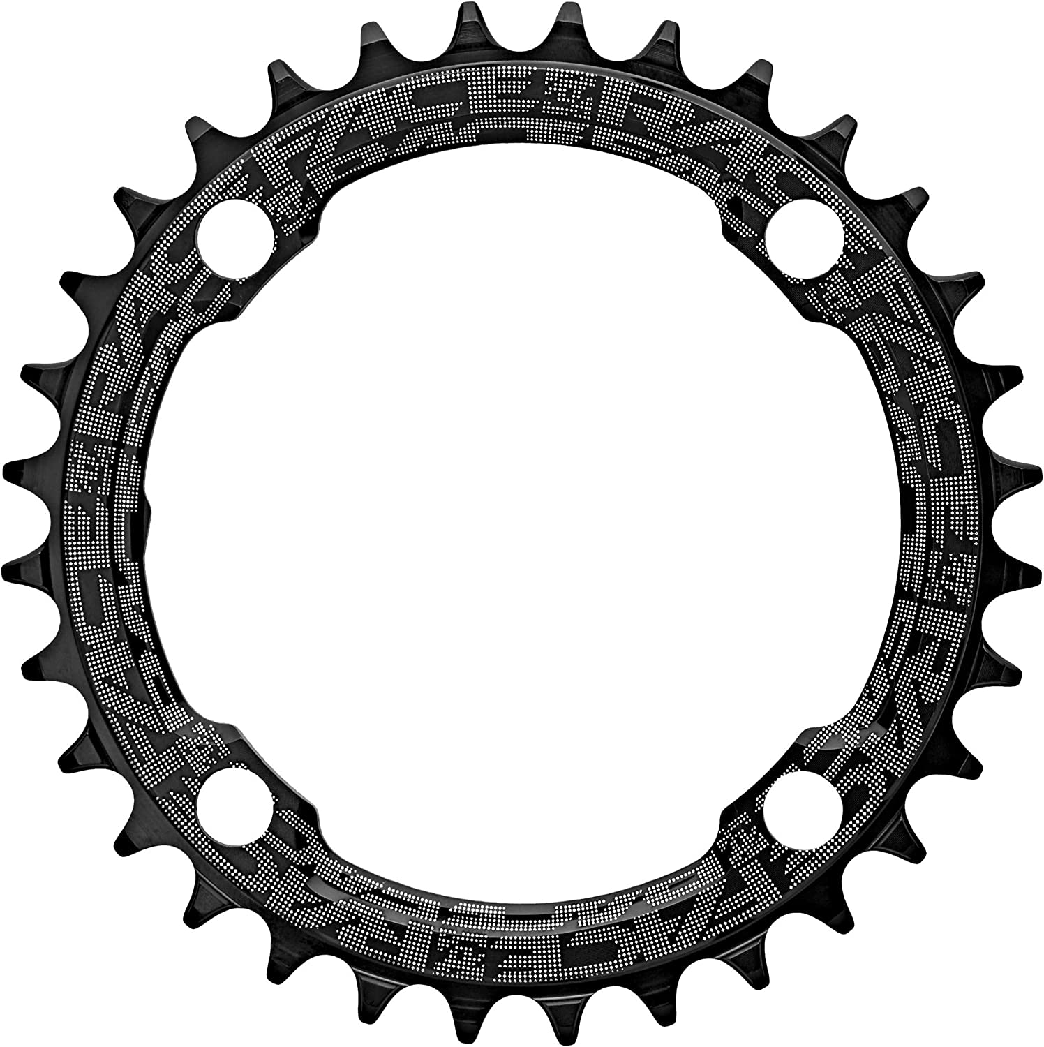 Race Face 34t Chainring 104 BCD 34 T Narrow Wide Profile for 1x Drivetrain Black