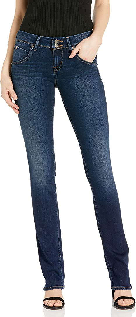 Hudson Women/'s Beth Baby Bootcut Mid-rise Jeans Ladies Size 26