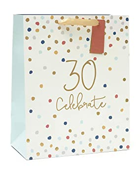Image Unavailable Not Available For Colour 30th Birthday Gift Bag