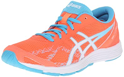 quality design bfdb8 07feb ASICS Women s Gel-Hyper Speed 7-W, Flash Coral White Turquoise