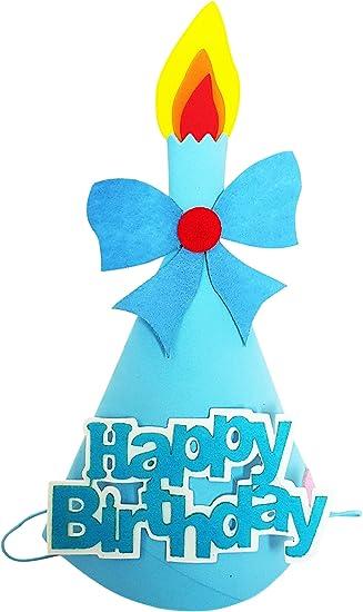 My Party Suppliers Birthday Premium Foam Soft Cap 1st Happy Boy Hats Baby Shower Latest Amazonin