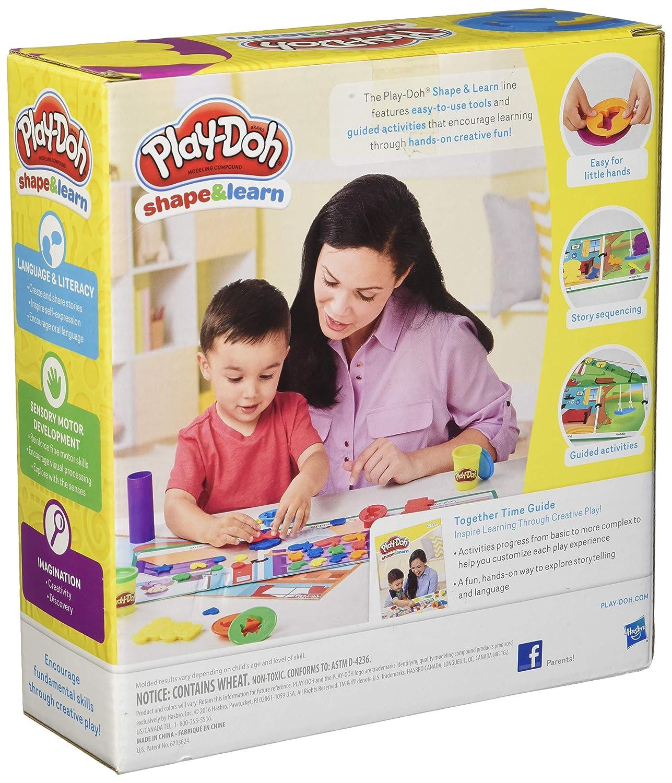 Play-Doh Shape and Learn Shape a Story Hasbro Import B9015