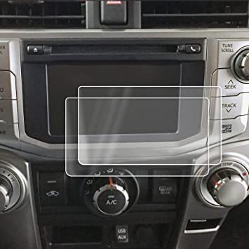 2015-2017 Compatible with Toyota Corolla Entune Screen Saver 1pc Custom Fit Invisible High Clarity Display Protector Minimizes Fingerprinting 6.1 Inch
