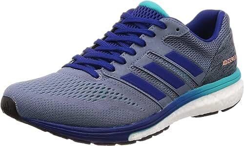 adidas Adizero Boston 7 m, Zapatillas de Running para Hombre, Gris (Raw Steel S18/Mystery Ink F17/Hi-Res Aqua F18), 46 EU: Amazon.es: Zapatos y complementos