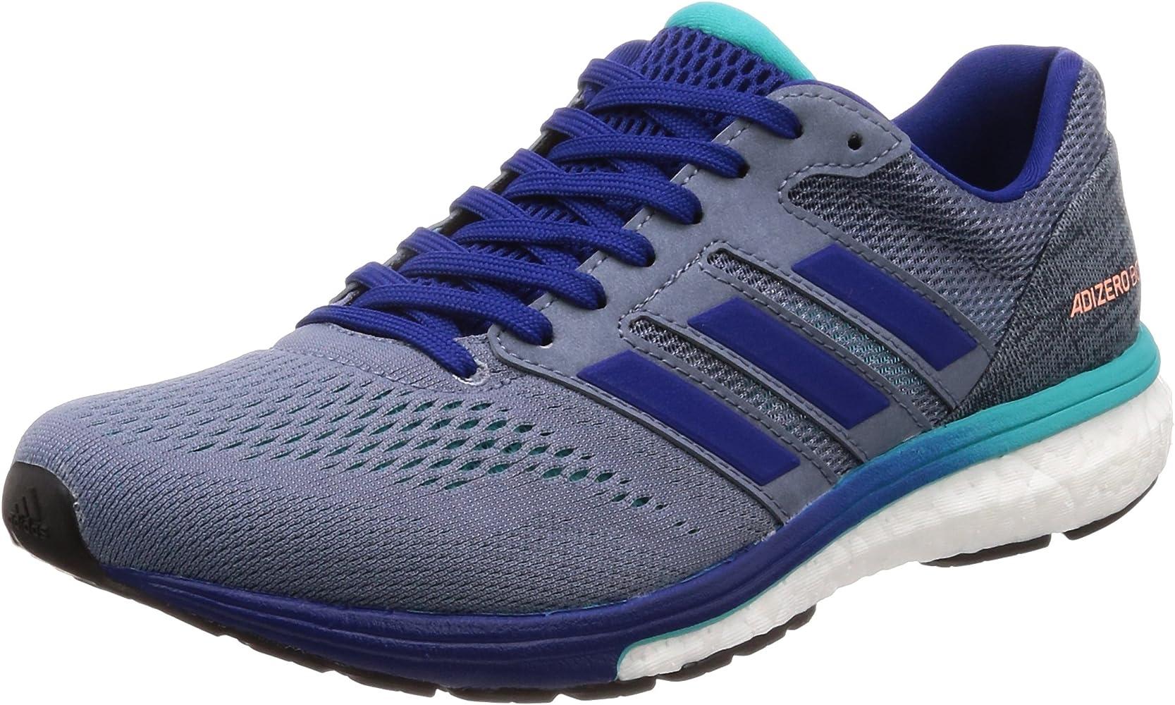 adidas Adizero Boston 7 m, Zapatillas de Running para Hombre, Gris ...