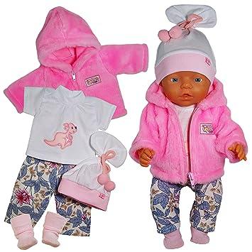*NEU* Puppenkleidung  für 43 cm Puppe z.B Baby Born Hose-Pullover-Set  Nr.29 Kleidung & Accessoires Puppen & Zubehör