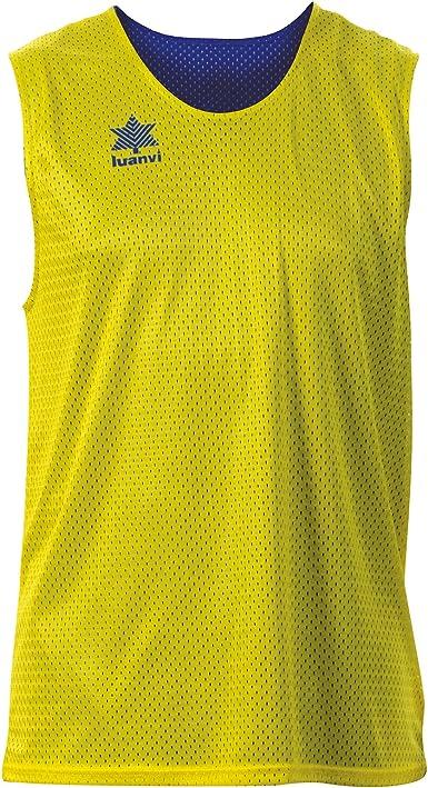 Luanvi Triple Camiseta Reversible Deportiva, Hombre: Amazon.es ...