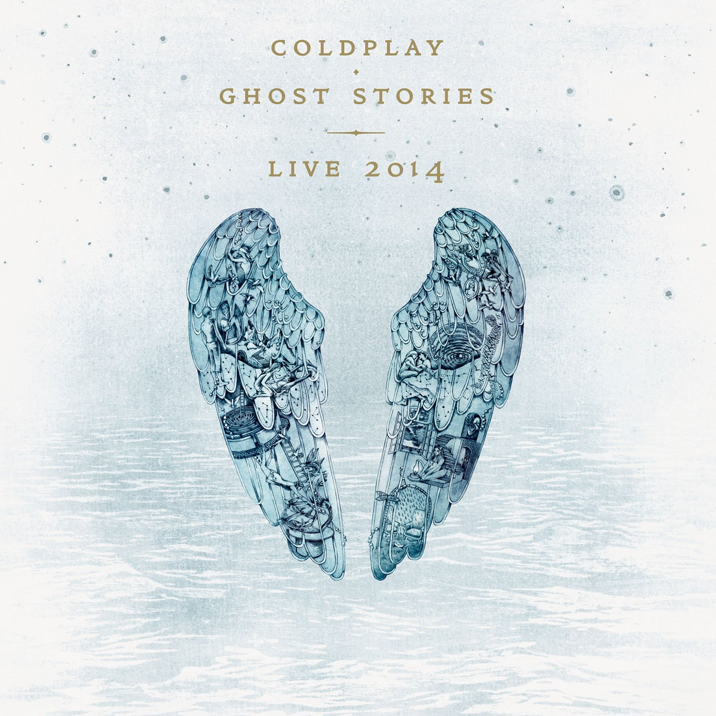 CD : Coldplay - Ghost Stories: Live 2014 (With DVD, 2 Disc)