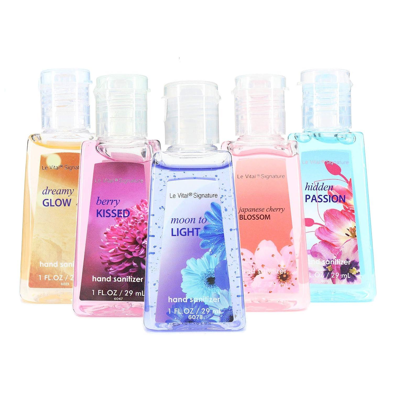 Amazon.com : 48 Mini Individual Hand Sanitizer Bottles. Perfect Size ...