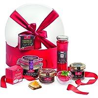 """Ducs de Gascogne - Coffret cadeau""""Rouge gourmand"""" - comprend 6 produits salés et sucrés - Idée cadeau Noël"""