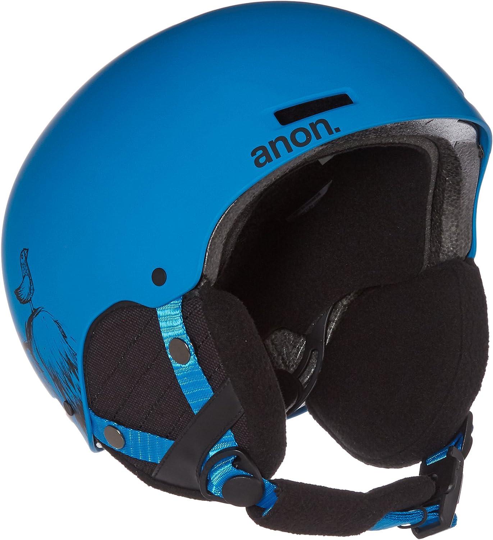 Anon Kids Rime Helmet, Sulley Blue, Small Medium
