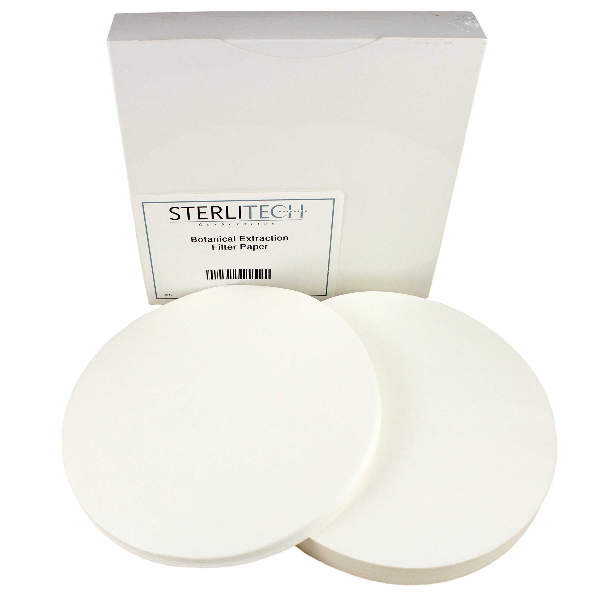Botanical Extraction Medium Cellulose Filter Paper, 24cm, 100/Pk by Sterlitech