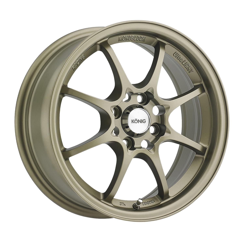 "Amazon Konig Helium Bronze Wheel 15x6 5"" 4x100mm Automotive"