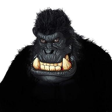 amazon com california costumes men s killa gorilla mask black one