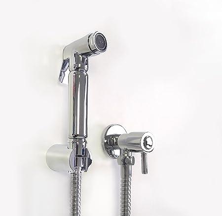 Xcel Home Quality Muslim Shattaf Chrome Bidet Douche Kit Set Shower