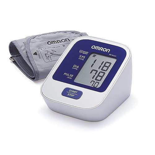 OMRON M2 BASIC Tensiómetro de Brazo digital Blanco y Azul