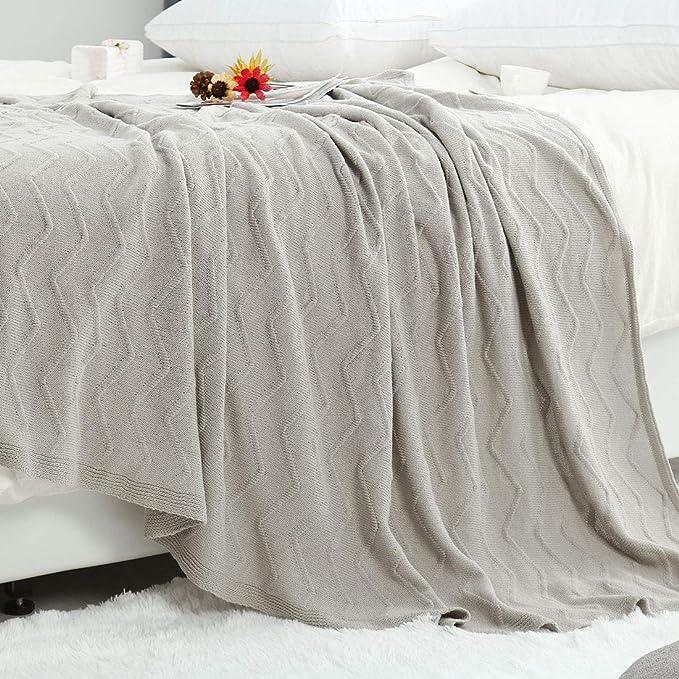 caf/é 110*180cm algod/ón zhaoke casa de punto manta oficina almuerzo manta para sof/á cama