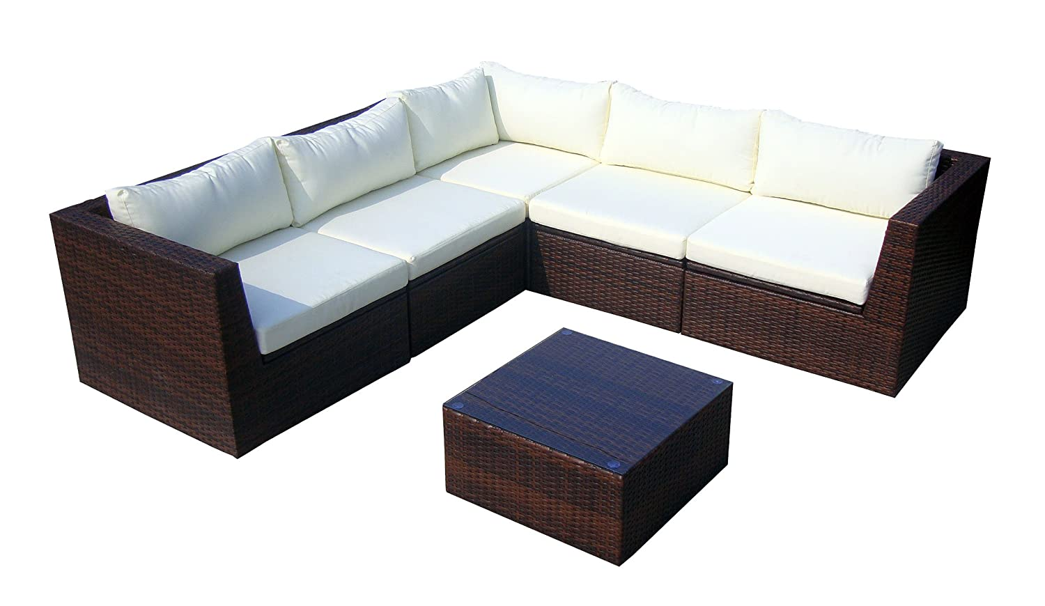 baidani gartenm bel sets designer rattan lounge garnitur surprise sofa. Black Bedroom Furniture Sets. Home Design Ideas