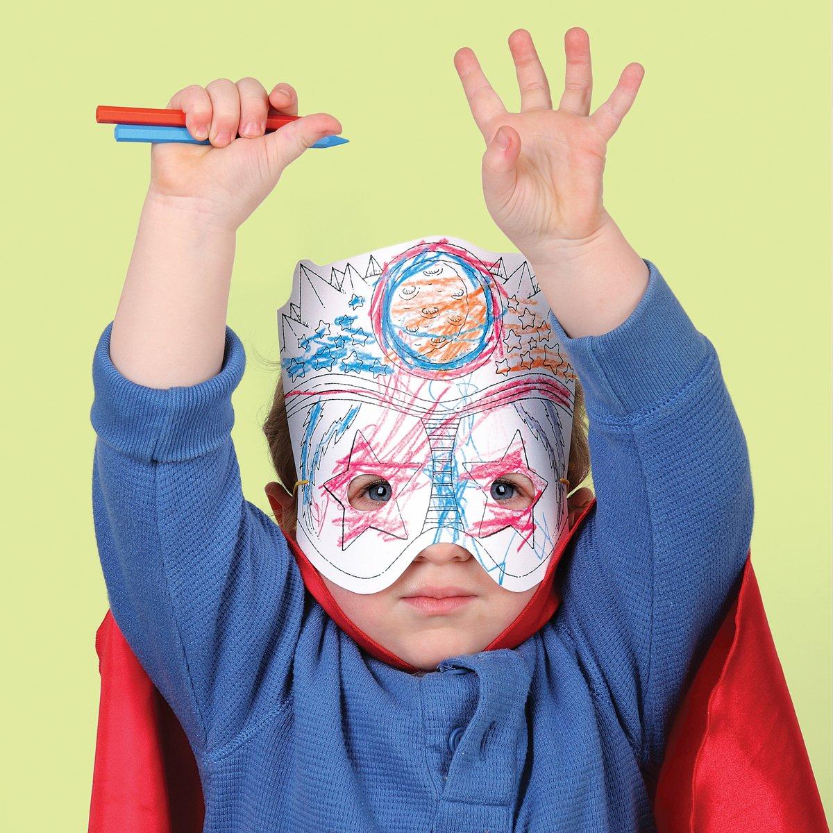 Amazon.com: Mudpuppy Superheros Make-a-Mask: Mudpuppy, Stephan Britt: Toys & Games